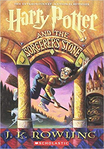 book cover of Harry Potter