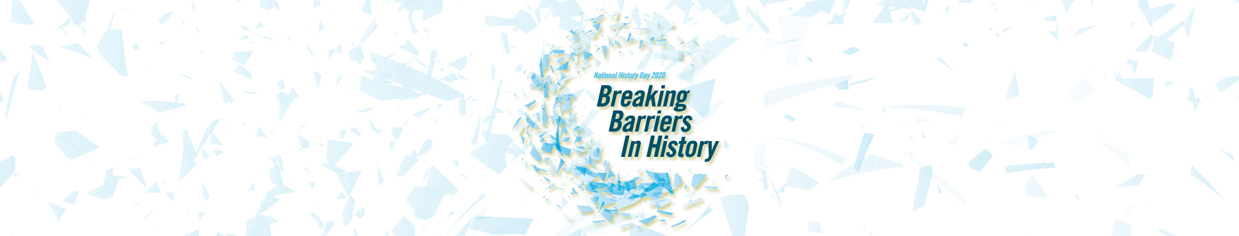 Breaking Barriers in History 2020 National History Day logo