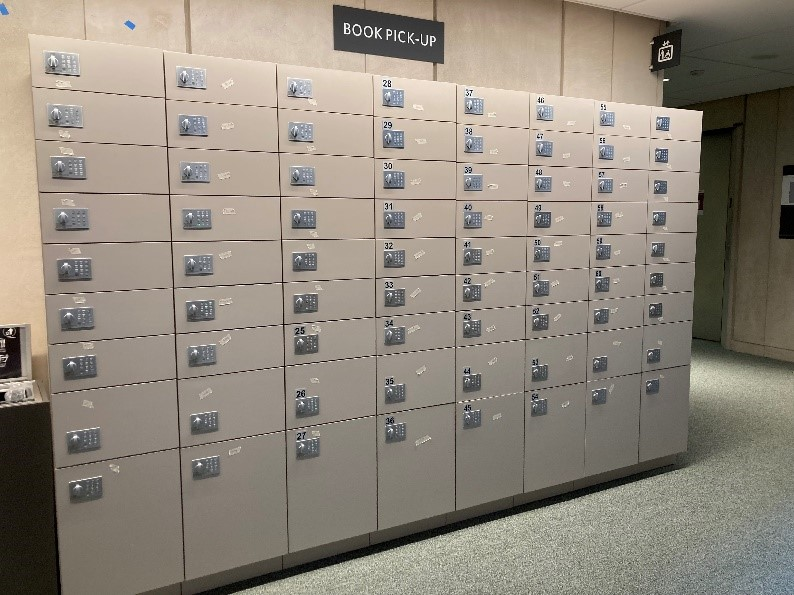 Accessing and using the Countway Book Lockers