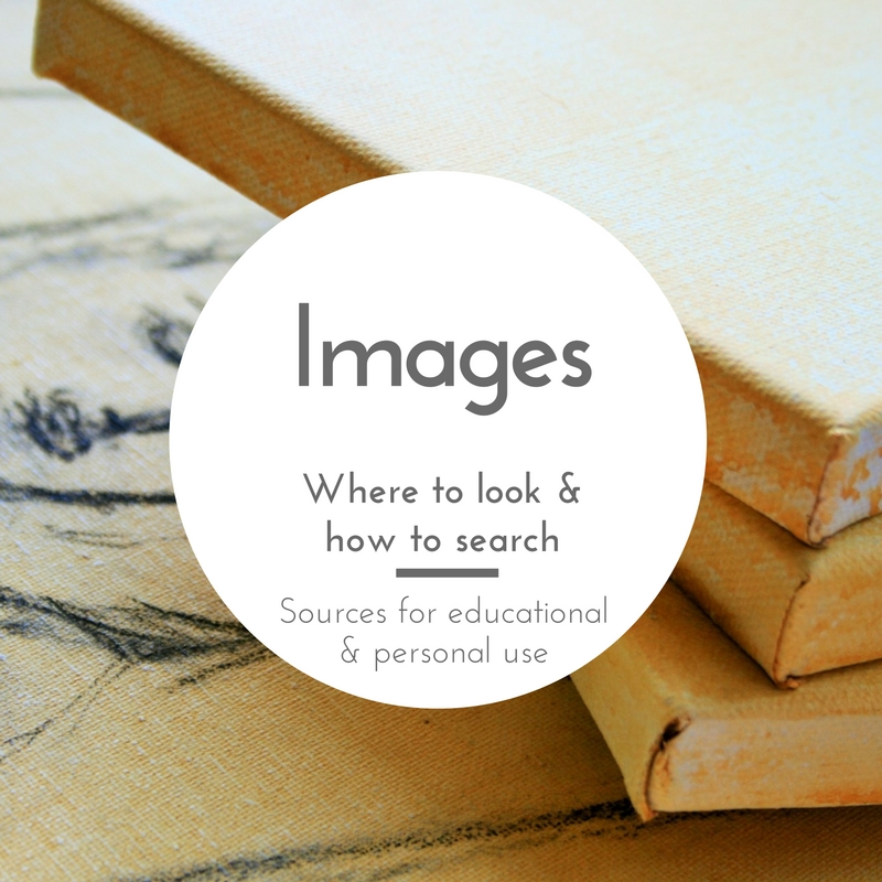Images - Where to look and how to search