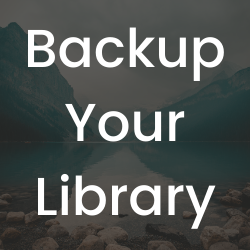 Link to this guide's section on how to backup the Zotero library.