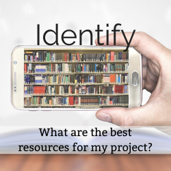 clickable button that will take you to the Identify Sources section of the guide.