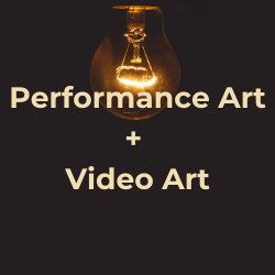 clickable link that takes you to the section of this guide on Performance and Video Art resources
