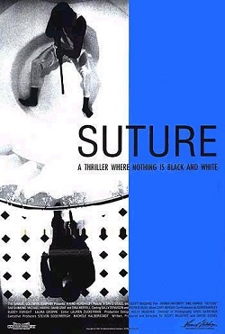 Image of the poster for the film Suture (1993)