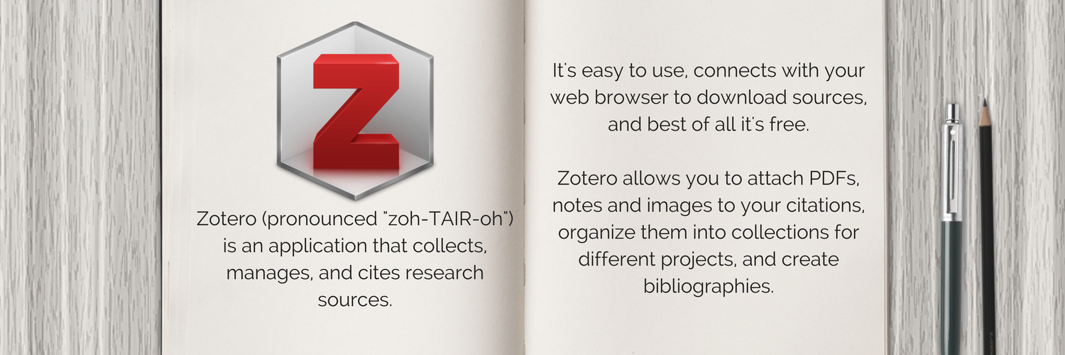 Image - What is Zotero?