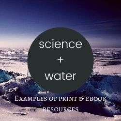 clickable image that links to area of the guide on science and water resources