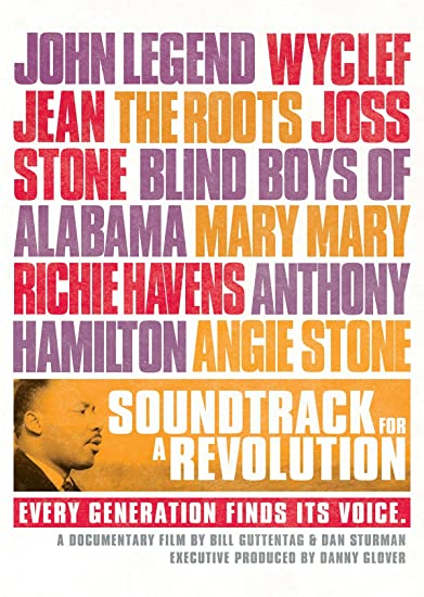 Cover art for the film Soundtrack of a Revolution