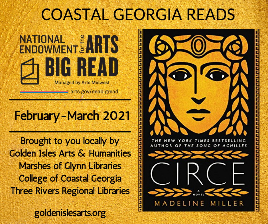 Promotional poster for Big Read 2021