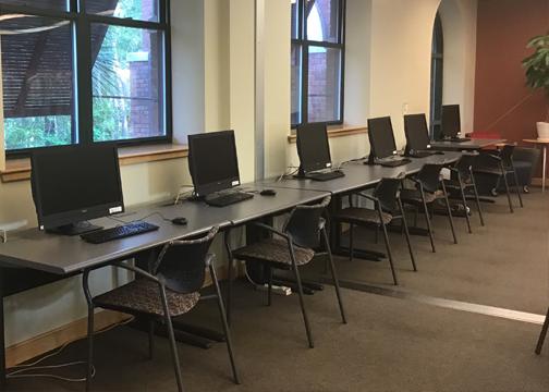 Computers at Camden Library