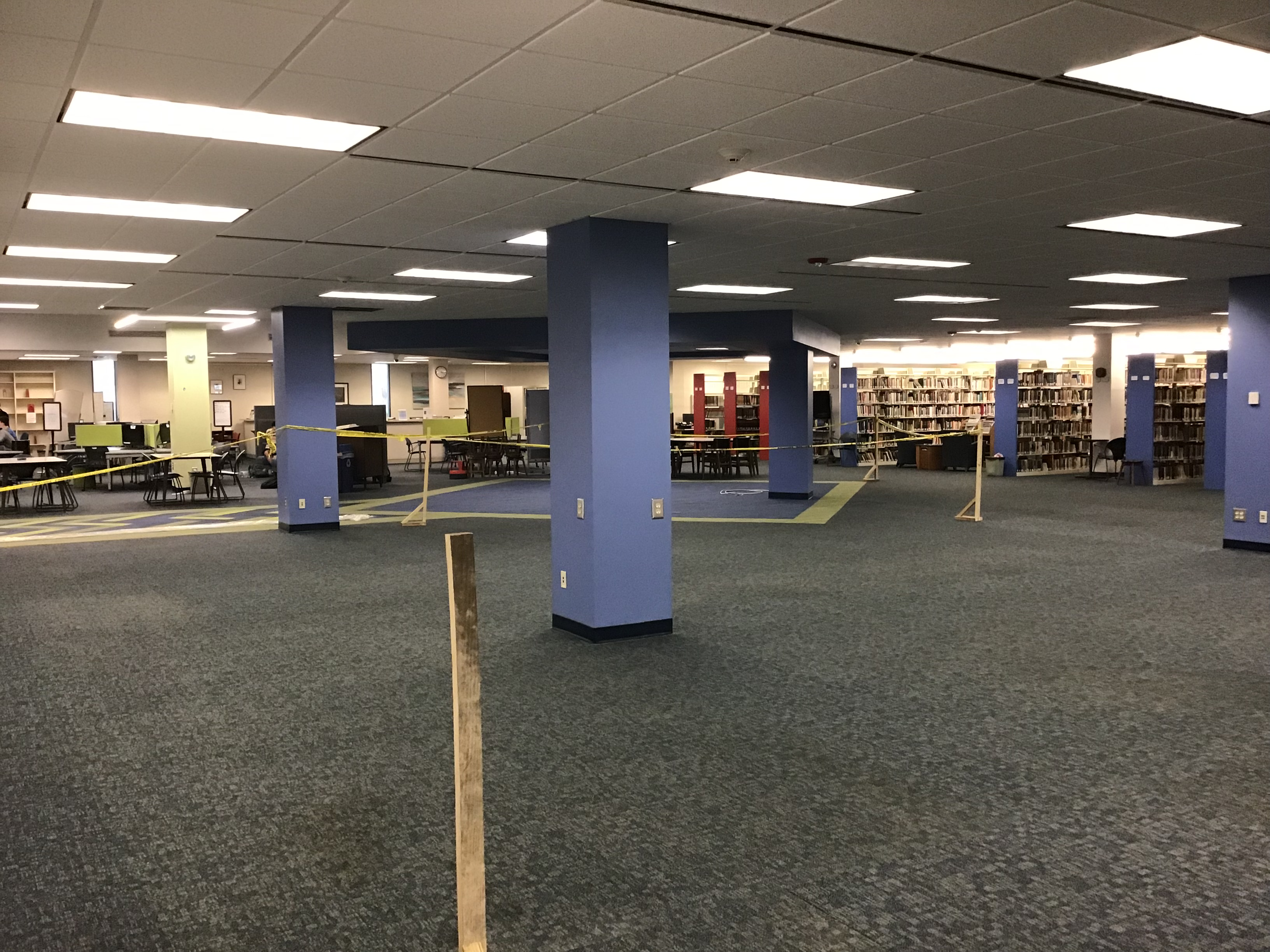 Image site of new circulation desk