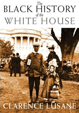 cover art for black history at the white house