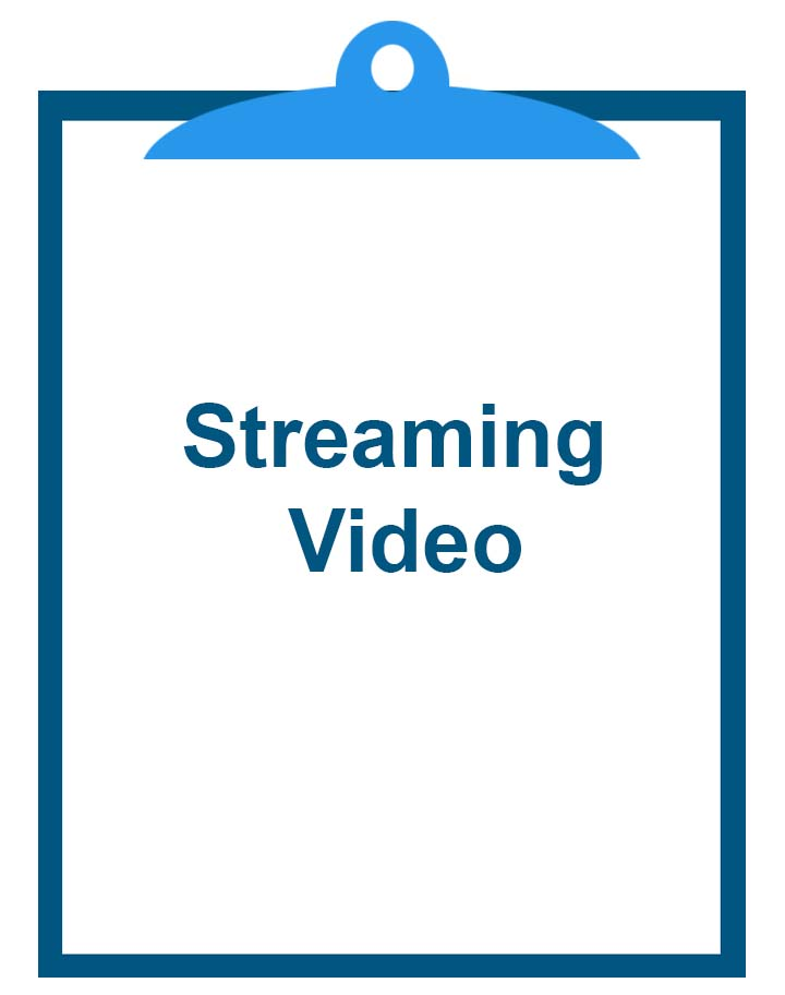 Streaming Video Graphic