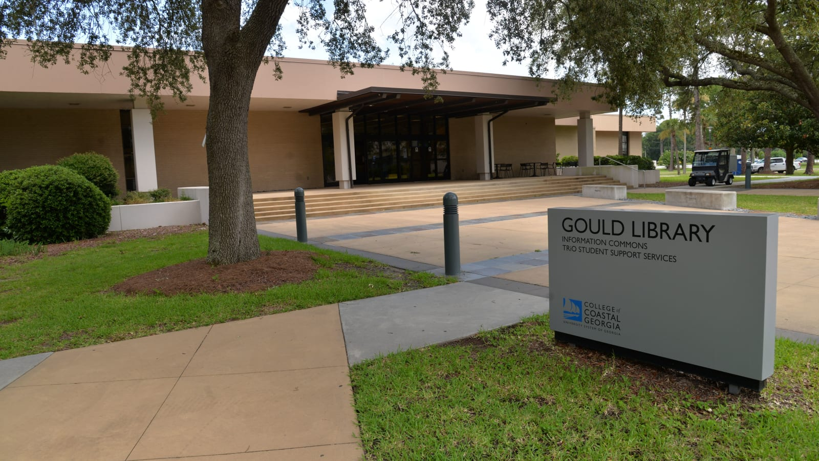 Gould mall entrance