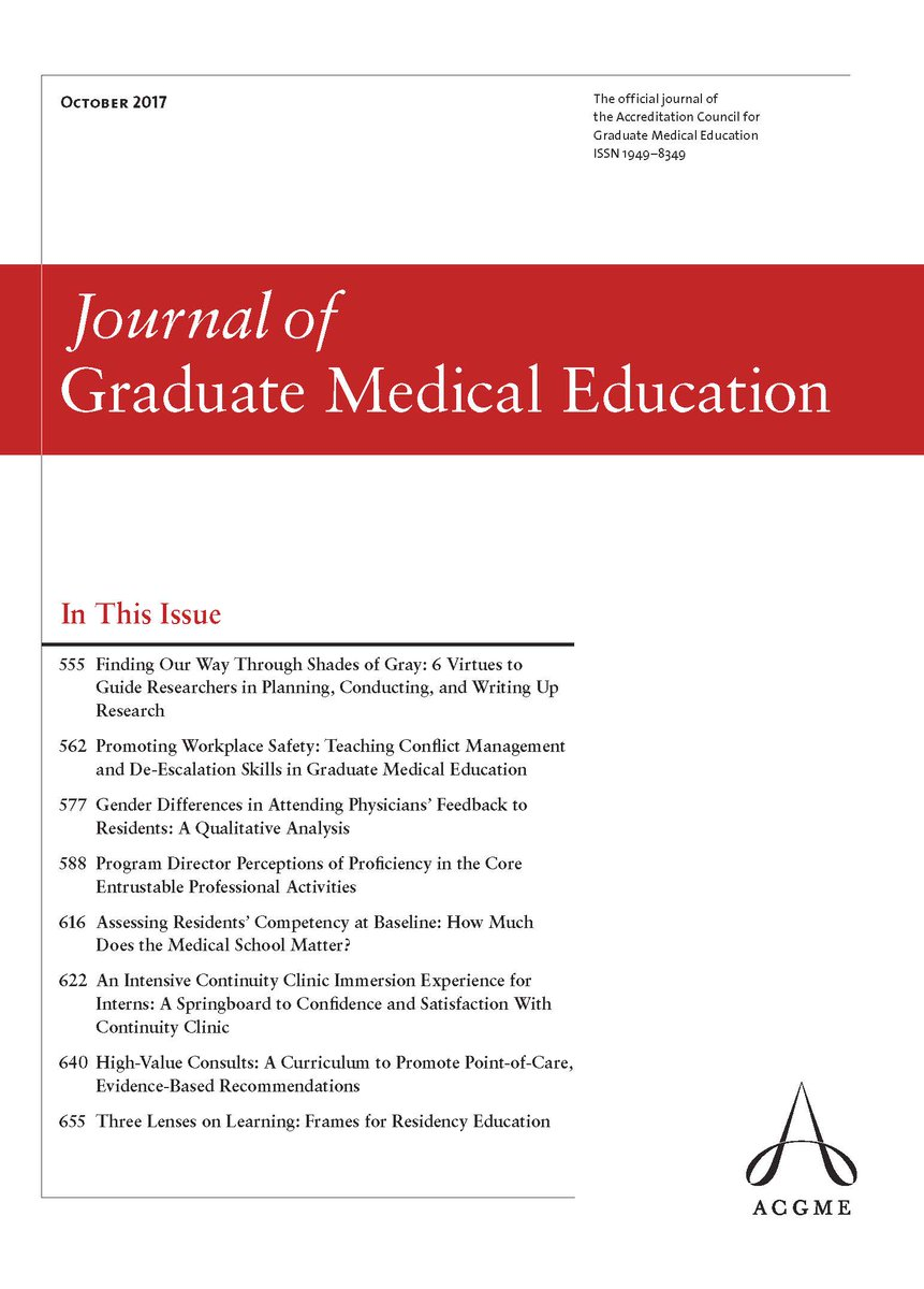 Journal of Graduate Medical Education