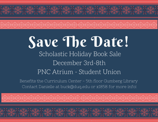 Scholastic Holiday Book Sale