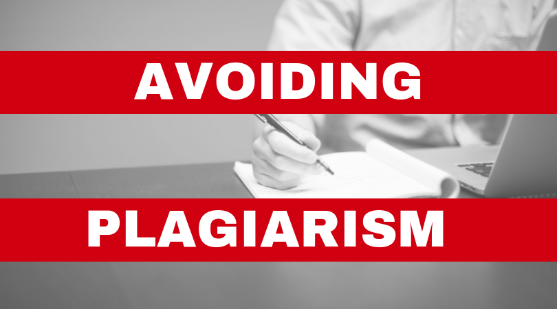 Avoiding Plagiarism Webinar