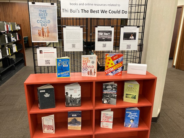 Best We Could Do library exhibit
