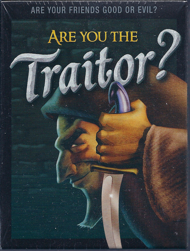 are you the traitor box cover art
