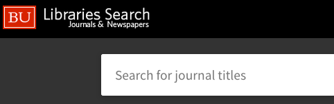 EJournals Search