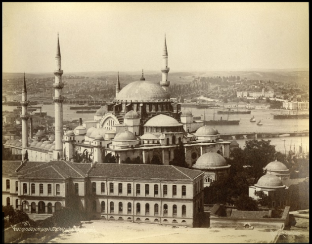 [Exterior view of Sulieman's Mosque
