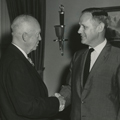President Dwight D. Eisenhower and Congressman Hastings Keith