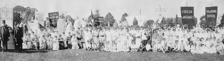Bridgewater State Normal School 75th Anniversary pageant, 1915