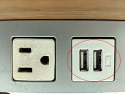 USB Outlet Type 1