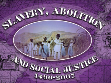 Slavery, Abolition, & Social Justice Database Logo