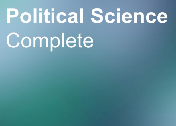 Political Science Complete Logo