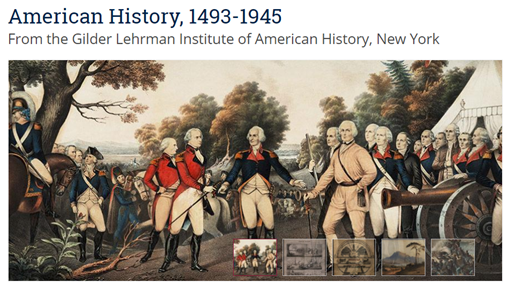 Logo for American History 1493-1945