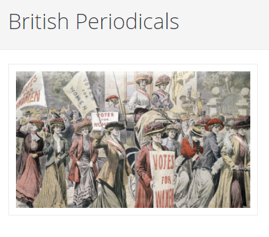 British Periodicals Logo