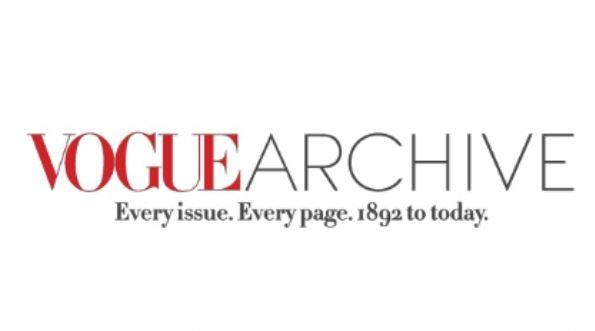 Vogue Archive Logo