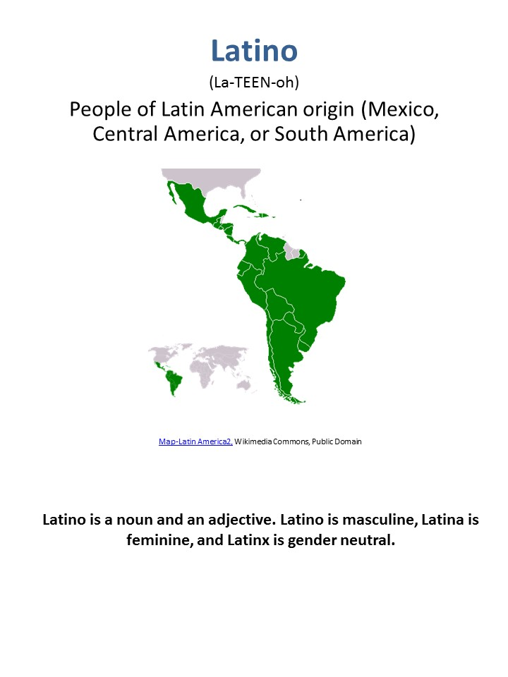 definition of Latino