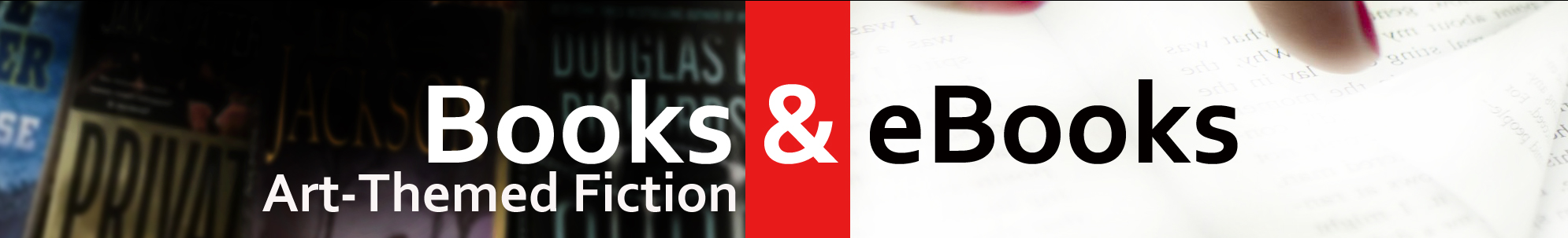 Art-Themed Fiction banner image