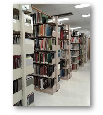 Image of Library Book Stacks
