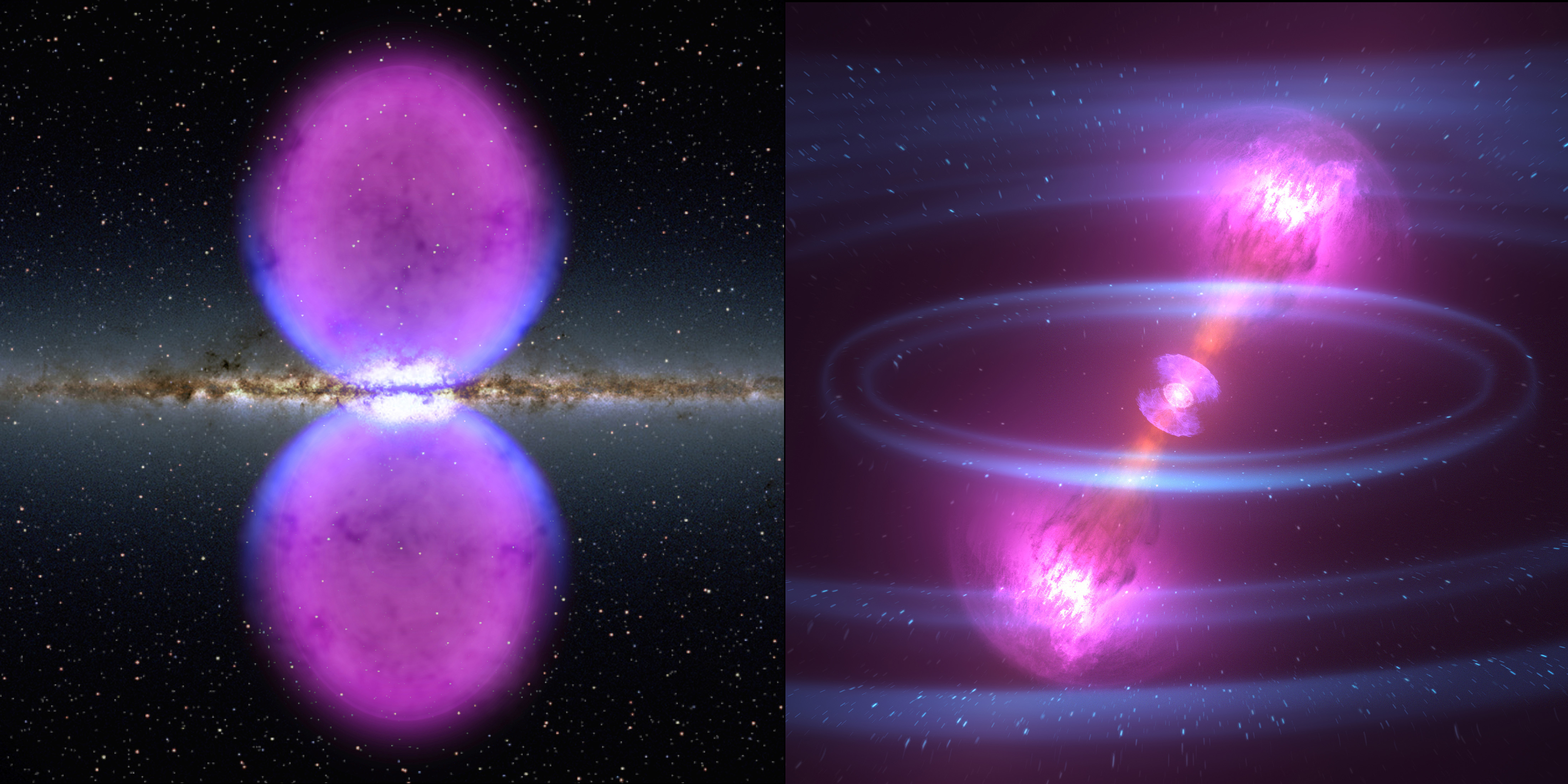 Astronomy images from Fermi Gamma-ray Space Telescope's