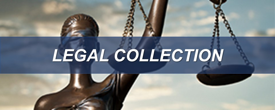 legal collection opens in new window