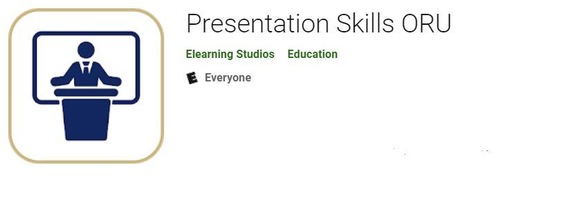 Presentation skills app icon