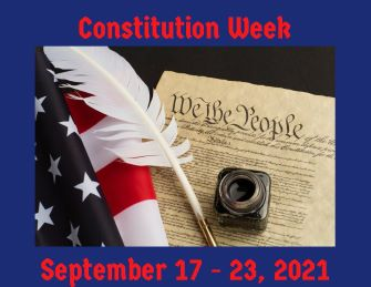 Constitution Week September 17-24