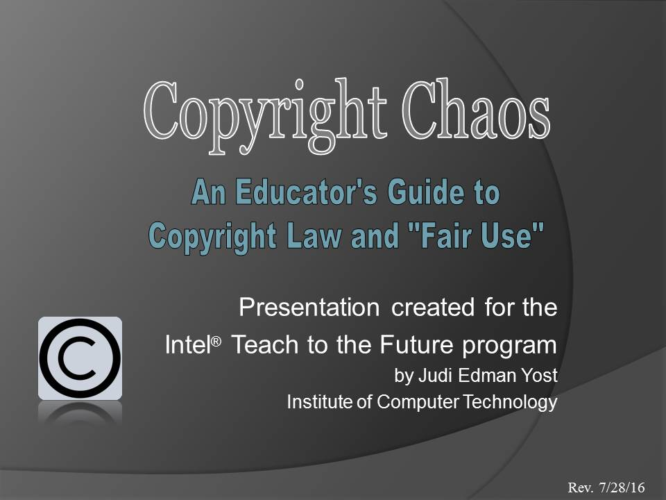 ORU Copyright Tutorial