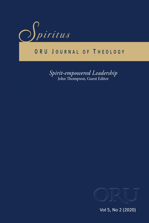 Spiritus journal cover