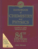 Cover of CRC Handbook of Chemistry and Physics