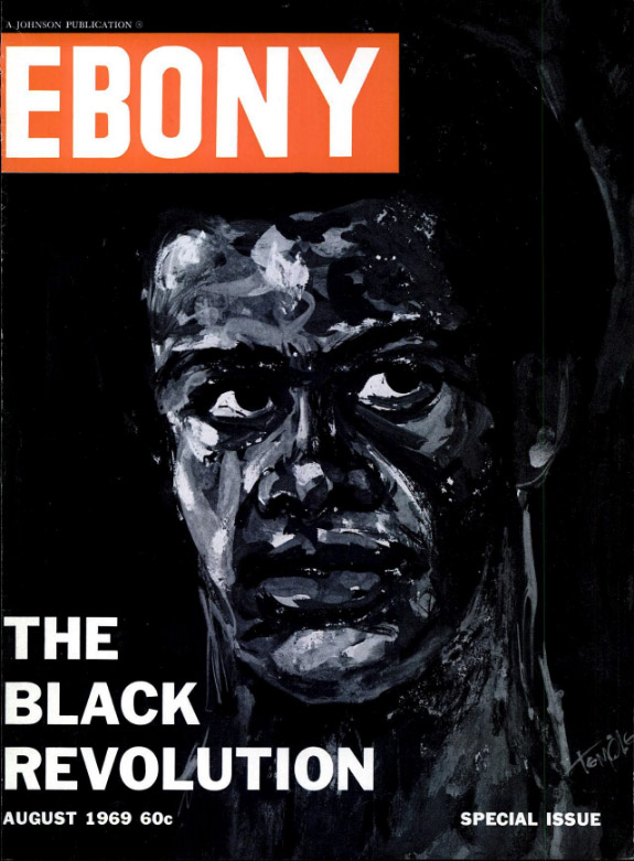 Ebony Cover, August 1969