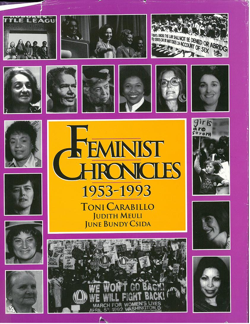 cover of Feminist Chronicles