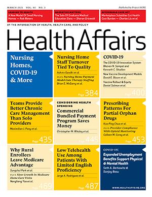 Health Affairs Cover Art