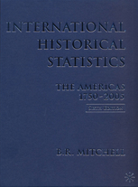cover of International Historical Statistics, The Americas