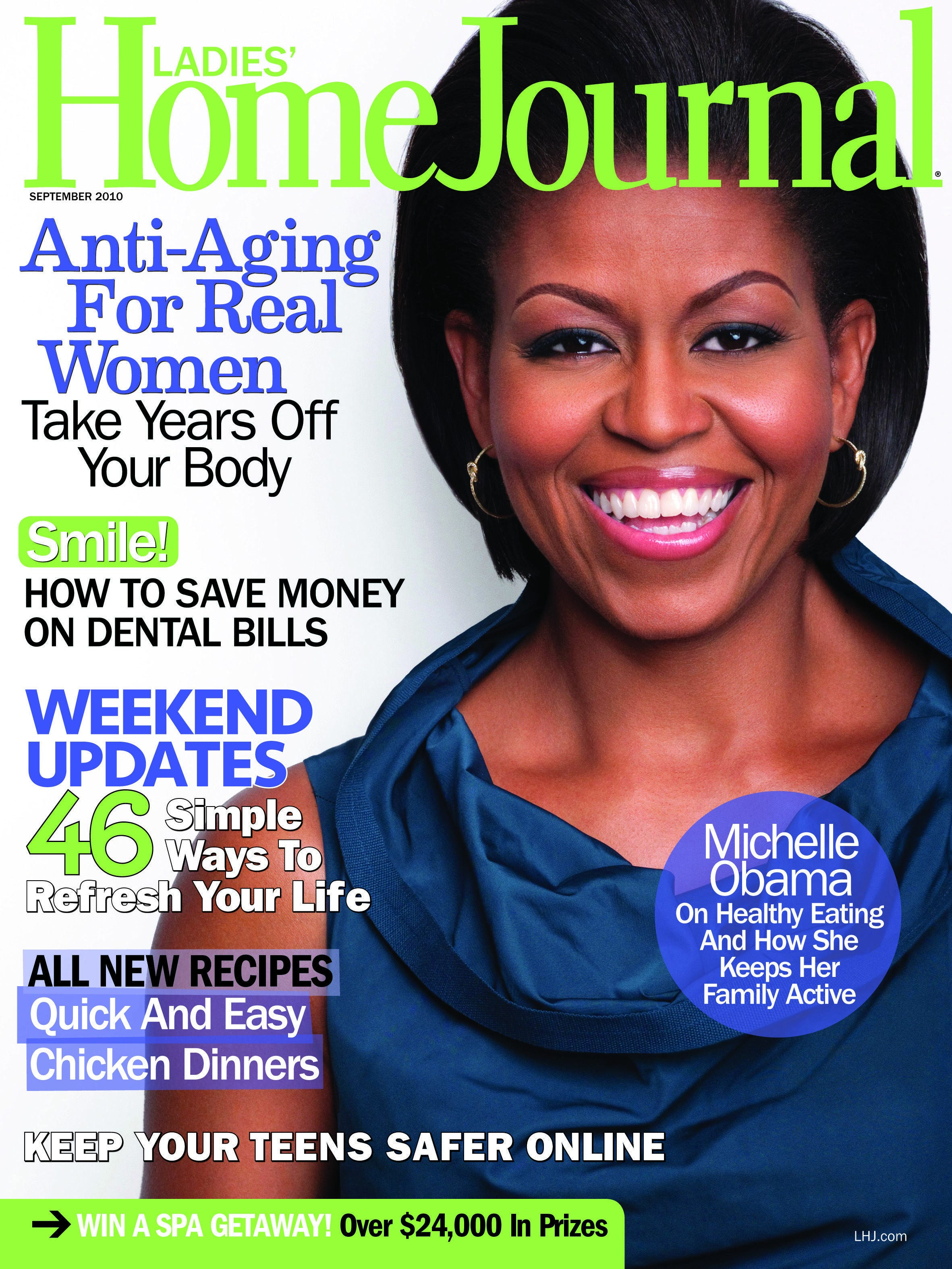 Cover of Ladies Home Journal