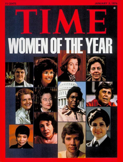 Time Magazine Cover, January 1976