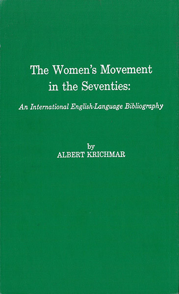 Cover of Women's Movement in the '70s