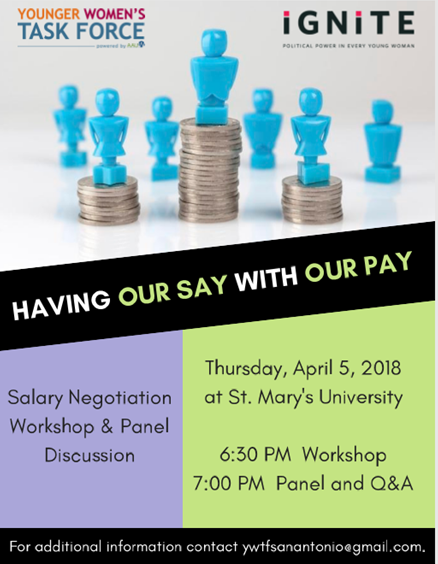 Salary Negotiation Workshop - Having Our Say with Our Pay